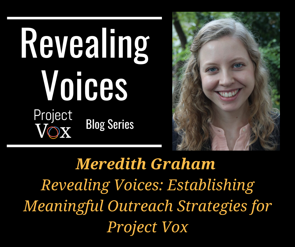 Revealing Voices: Meredith Graham