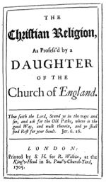 The Christian Religion, 1705 London