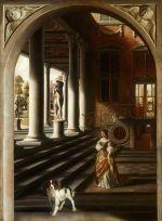 Anne Conway by Samuel van Hoogstraten, c. 1662-1667