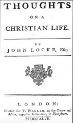 Thoughts on a Christian Life, 1747 London