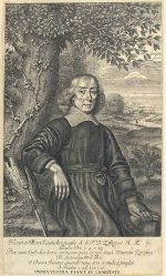 Henry More by William Faithorne, 1675