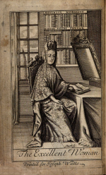 Frontispiece from Jacques du Bosc's The Excellent Woman