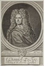 Daniel Defoe by Michael Vandergucht, after Jeremiah Taverner