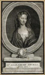 Portrait of Elizabeth Thomas by Giles King