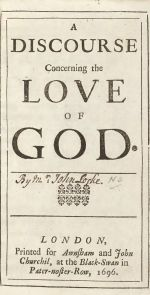 Discourse Concerning the Love of God