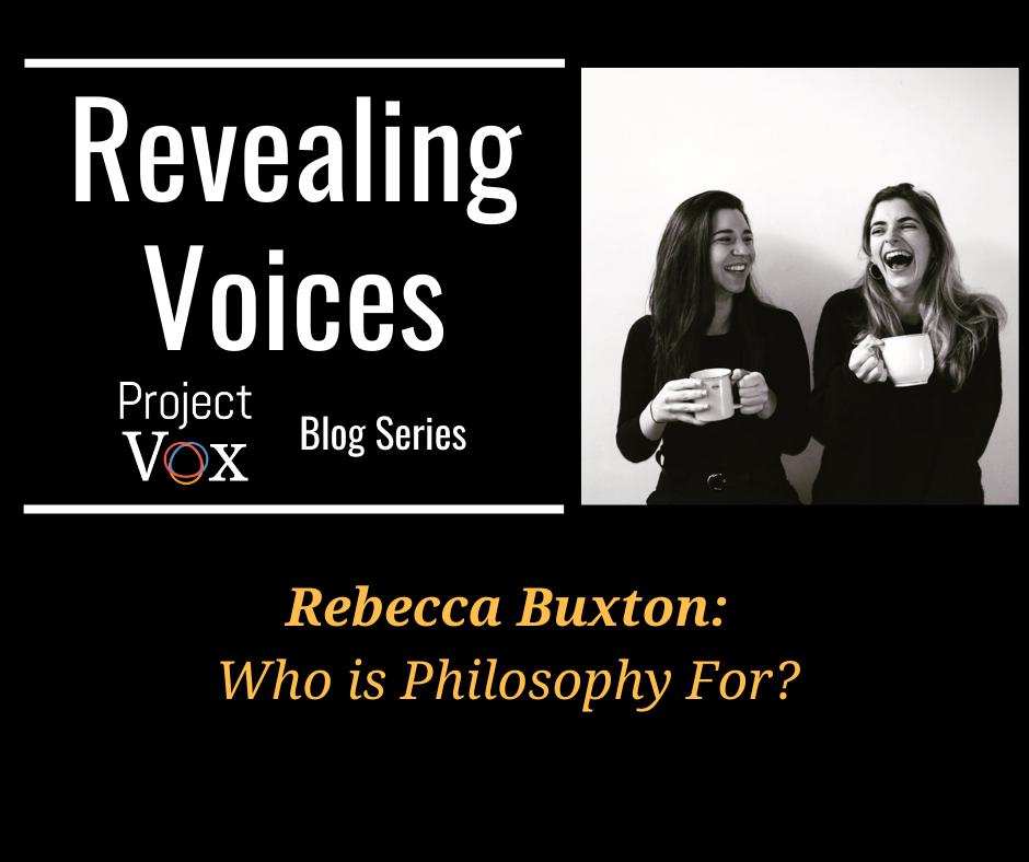 RV: Rebecca Buxton